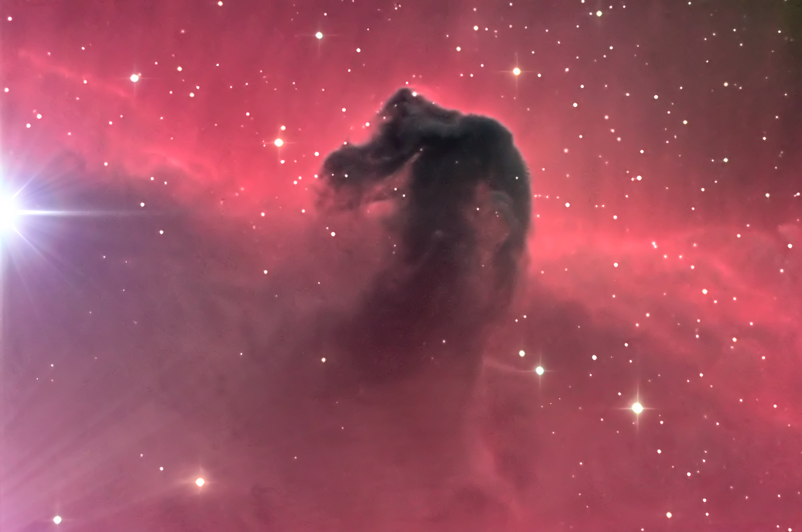 hubble pictures horsehead - HD1600×1062