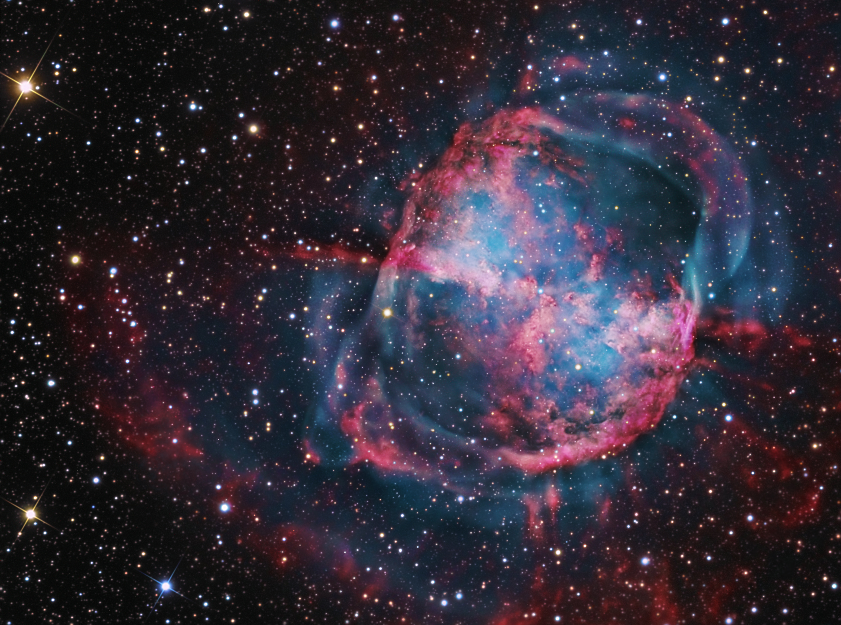 Dumbbell Nebula M27 (page 2) - Pics about space