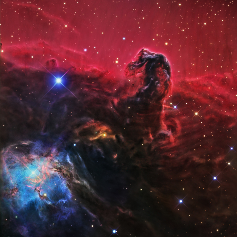 IC434,the Horsehead Nebula in Orion